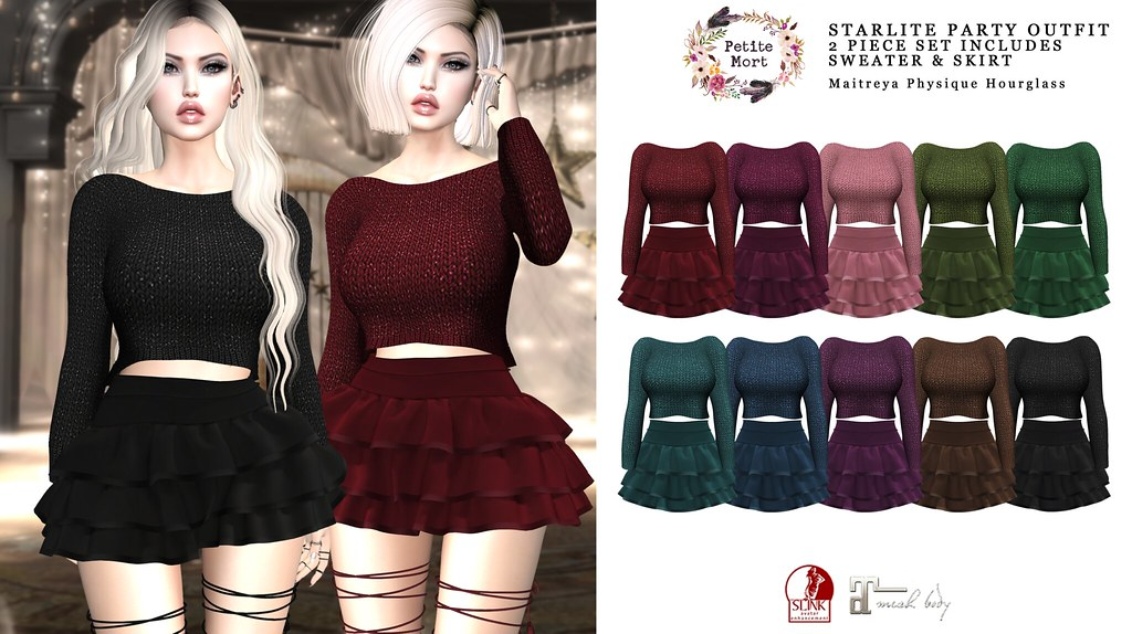 Petite Mort- Starlite Party Outfit - TeleportHub.com Live!
