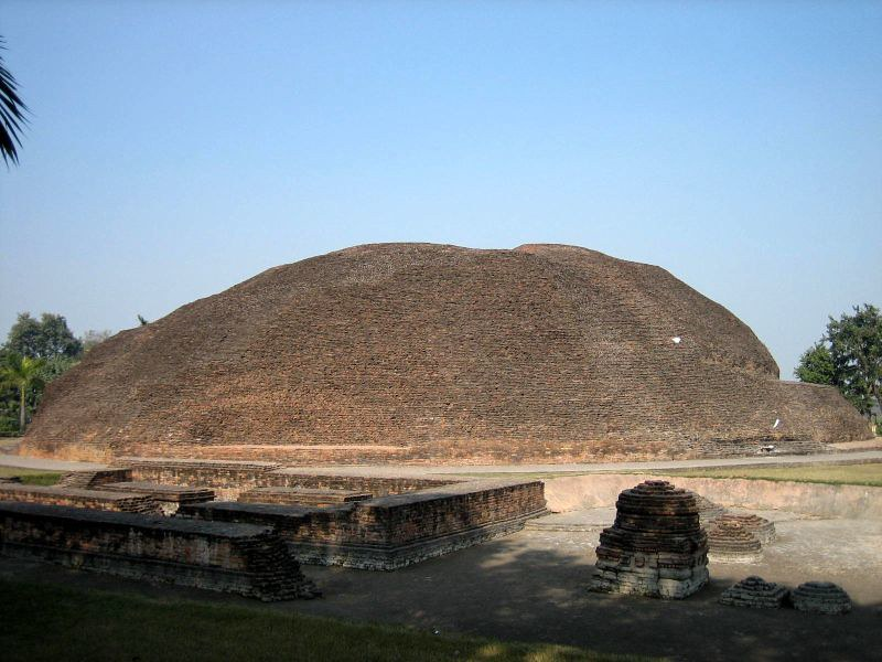 Ramabhar Stupa was built over a portion of the Gautama Buddha`s ashes after cremation