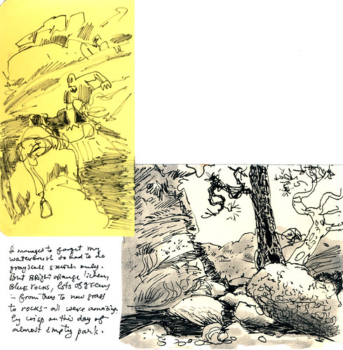 Sketchbook #110: Hiking
