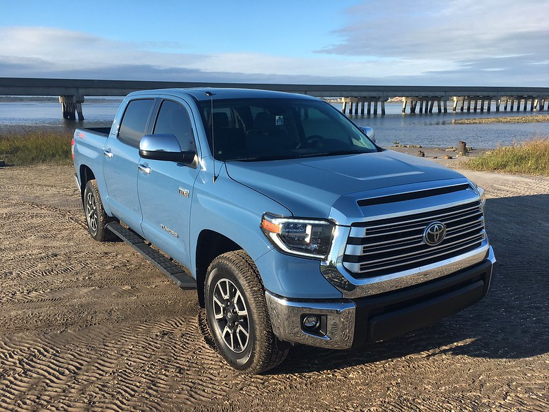 2018 Cavalry Blue Crewmax Limited TRD Off Road 4x4 ...
