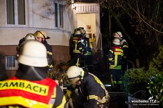 Tannenbaumbrand in Wohnung Sonnenberg 04.01.18