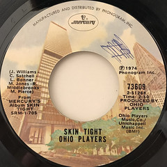 OHIO PLAYERS:SKIN TIGHT(LABEL SIDE-A)