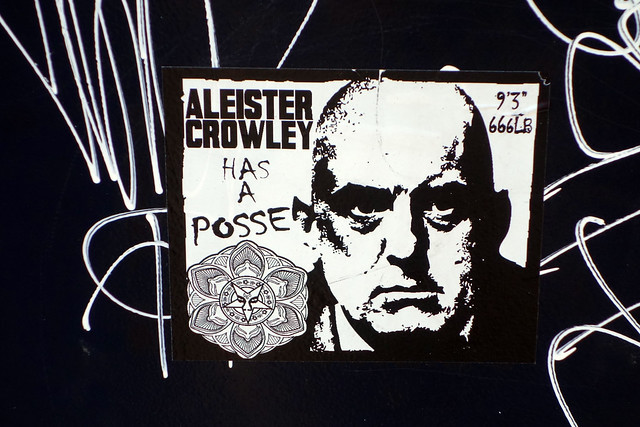 Header of Aleister Crowley