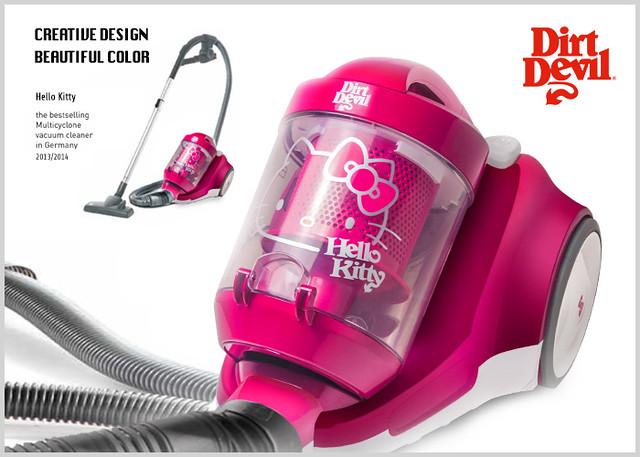 Dirt Devil × Hello Kitty 聯名旋風無袋吸塵器  (ZH-02)