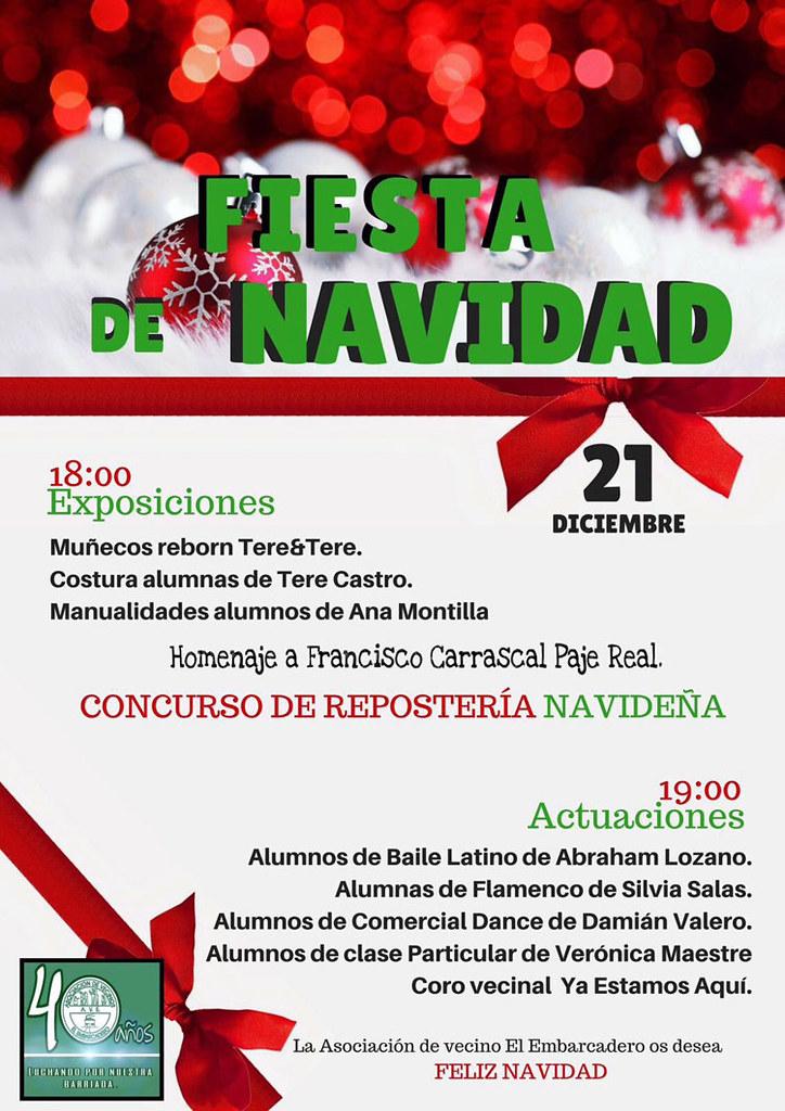 Homenaje a Francisco Carrascal en la Fiesta de Navidad del Acebuchal ...