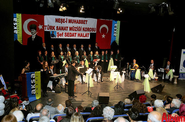 Neşe-i Muhabbet Türk Sanat Müziği Korosu AKM Konser