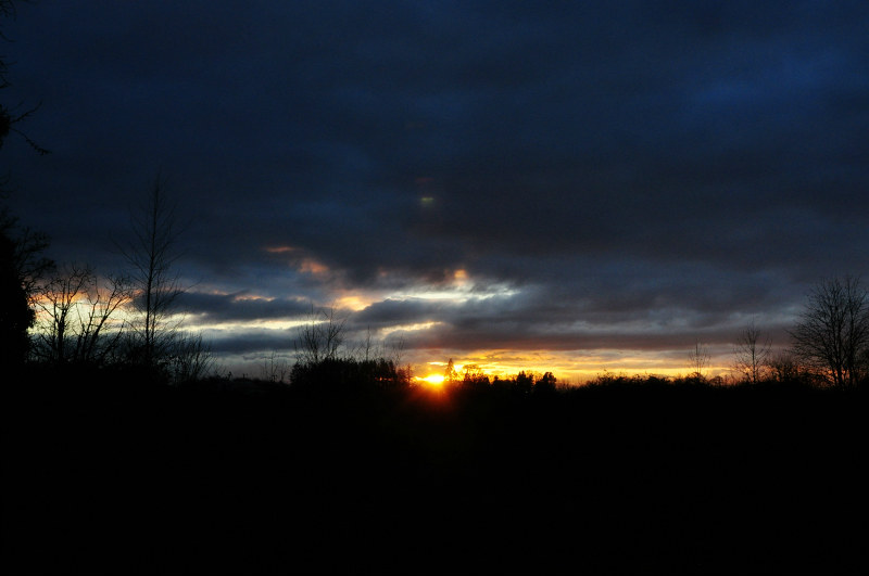 Christmas Sunset @ Mt. Hope Chronicles
