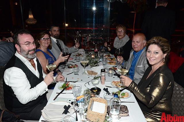 Bounoa Alanya firmasının yetkilileri ve misafirleri oldukça keyifli bir akşam geçirdi.