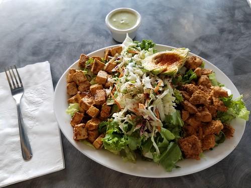 Paleo Salad on table