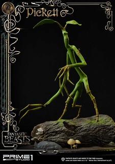 想找開鎖達人嗎?! Prime 1 Studio《怪獸與牠們的產地》木精 皮奇 Pickett ファンタスティック・ビーストと魔法使いの旅  ピケット LSFB-01 全身雕像作品