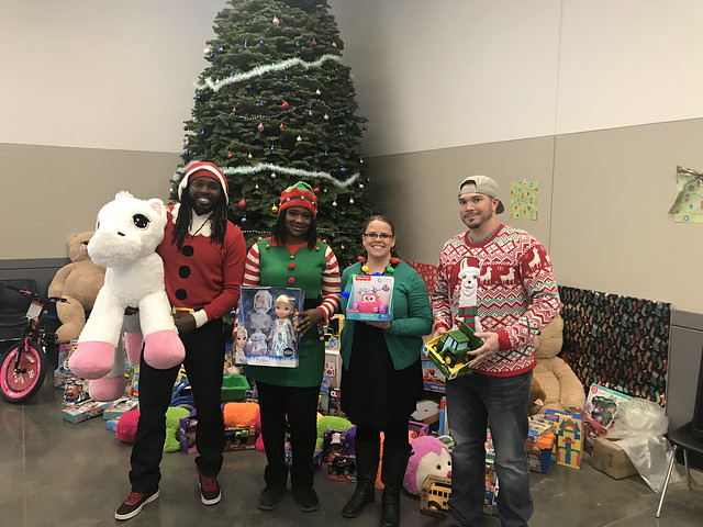Water Bureaul Holiday Toy Drive 2017