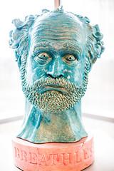 Breathless (Self-Portrait in Blue)