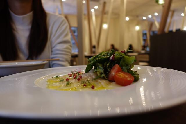 azzurro verdura(昆布締め真鯛のカルパッチョ)