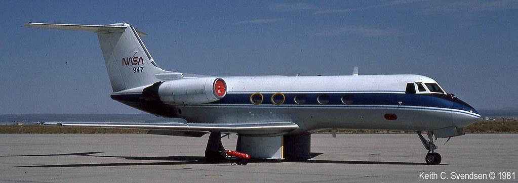 Gulfstream II nasa N947NA KEDW 19810800 13cr