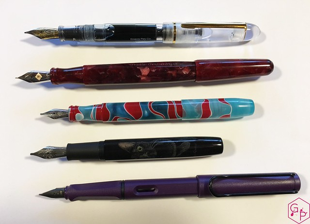 Review Ryan Krusac Studios Legend L14 Custom Fountain Pen @FountainPenMan 4