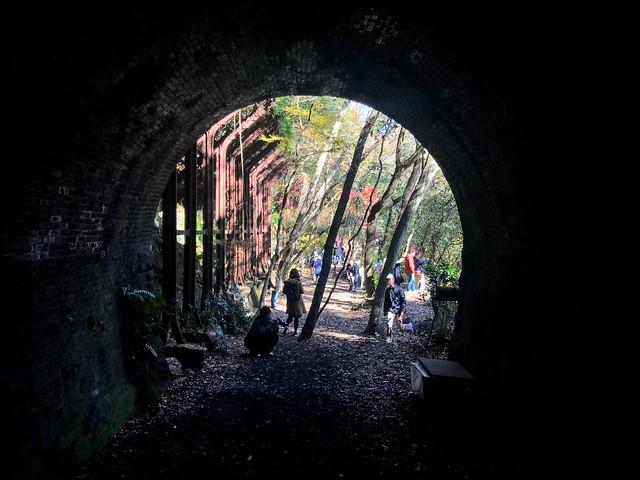 愛岐トンネル群 3号トンネル出口
