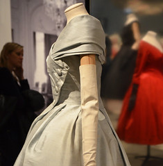 silk dress, Christian Dior