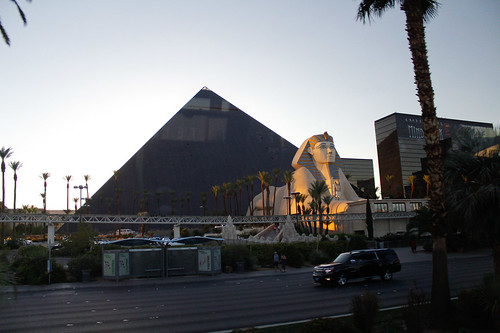 hotel Luxor en Las Vegas