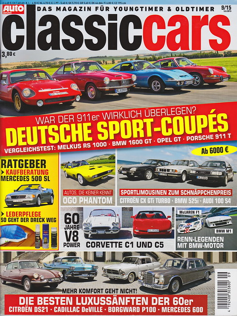 Auto Zeitung - Classic Cars 9/2015
