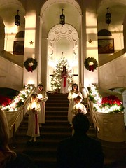 Procession of St. Lucia