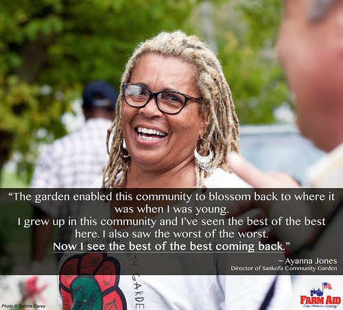 Today's #WednesdayWisdom comes from Ayanna Jones, who came back to her Pittsburgh neighborhood of Homewood after retiring from a successful career. Instead of taking it easy in retirement, she's working hard to instill in youth what it means to do good wo