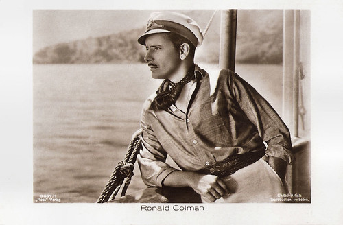Ronald Colman in The Rescue (1929)