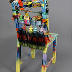 Jonathan Saiz; Item 137 - in SITu: Art Chair Auction