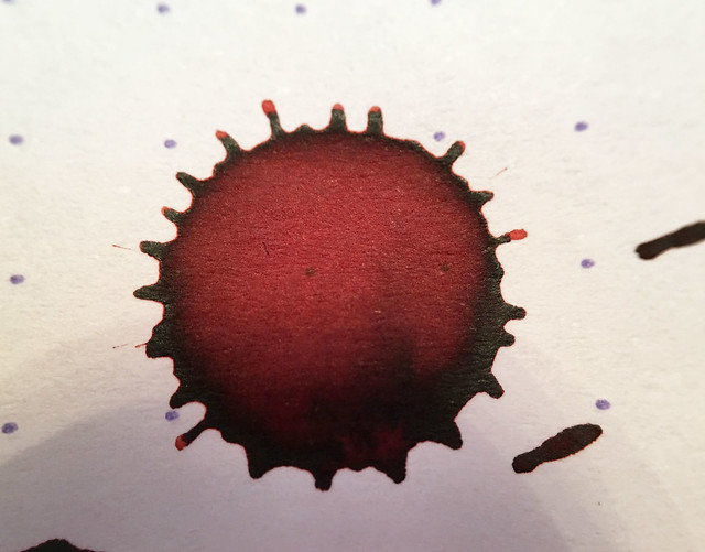 Ink Shot Review Franklin-Christoph Urushi Red @1901FC 9