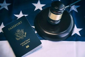 38921512 - us immigration law concept image