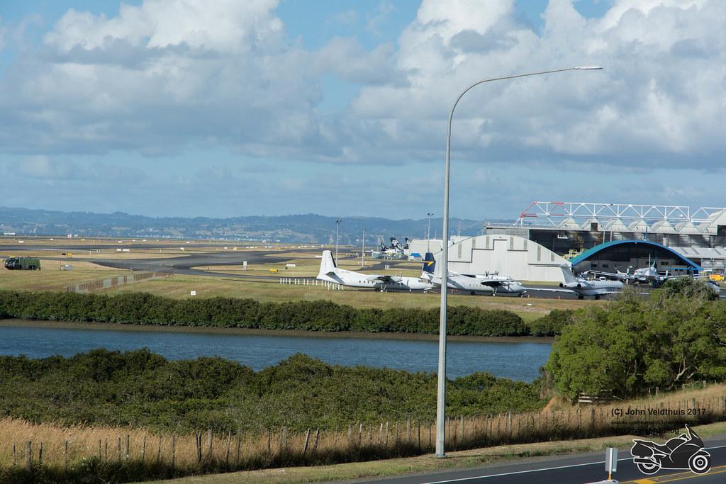 Auckland Airport Runway