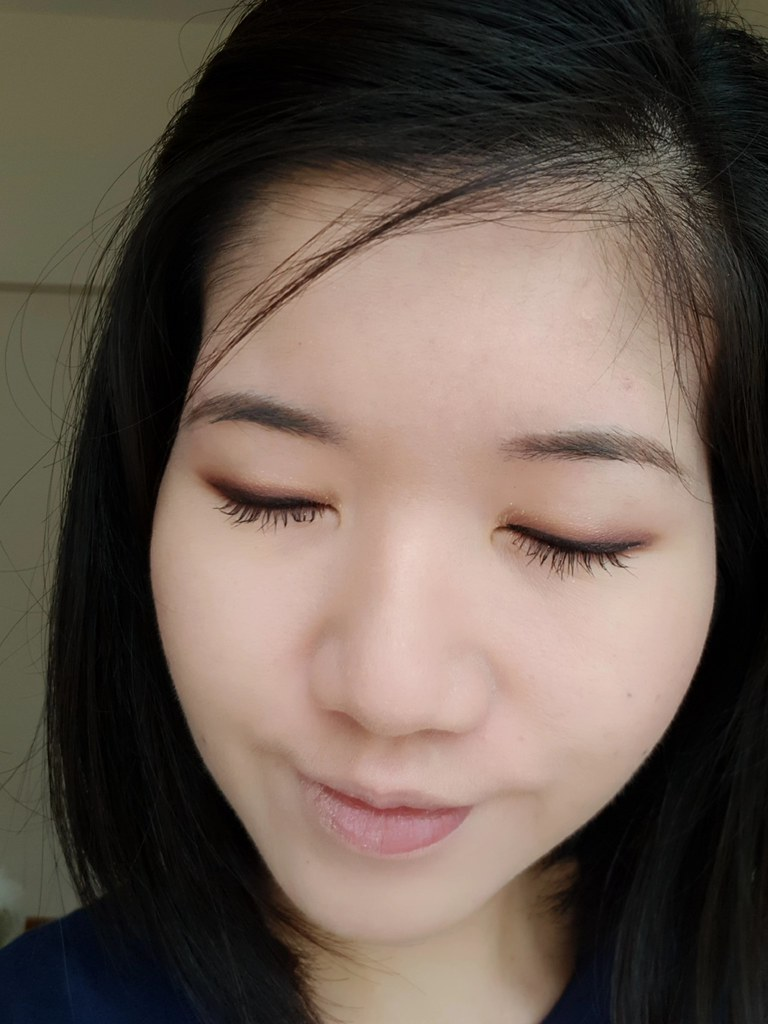 Heroine Make Kiss Me Eyeshadow Look #02 Rose Brown