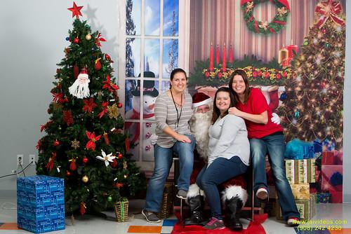 Santa at Teecs-113