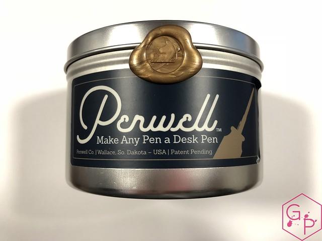 Review @PenwellCo Walnut Pen Desk Stand 1