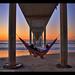Hanging around for another joyful San Diego sunset!