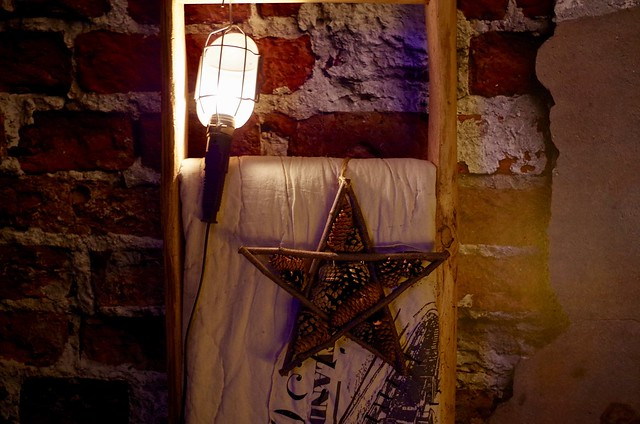 Decoratieladder ster kerst