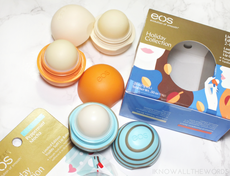 eos lip lovin holiday collection