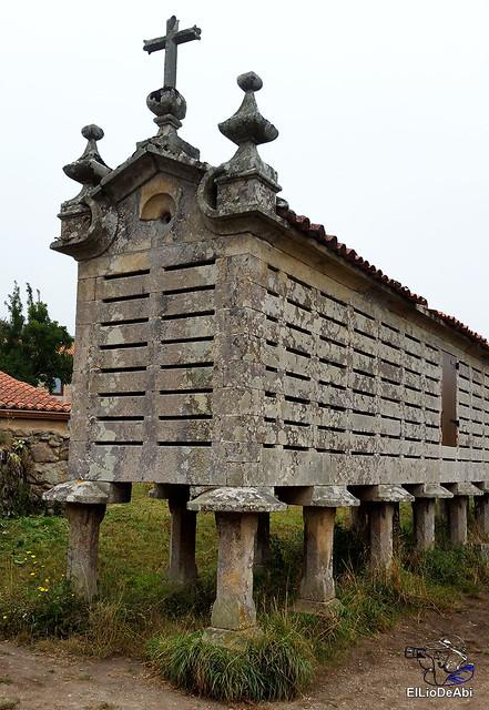 Horreos de Carnota y Lira, los mas grandes de Galicia 5