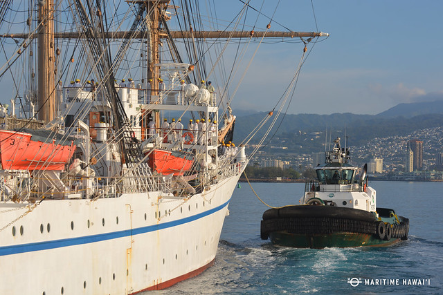 Nippon Maru to Visit Hilo and Honolulu