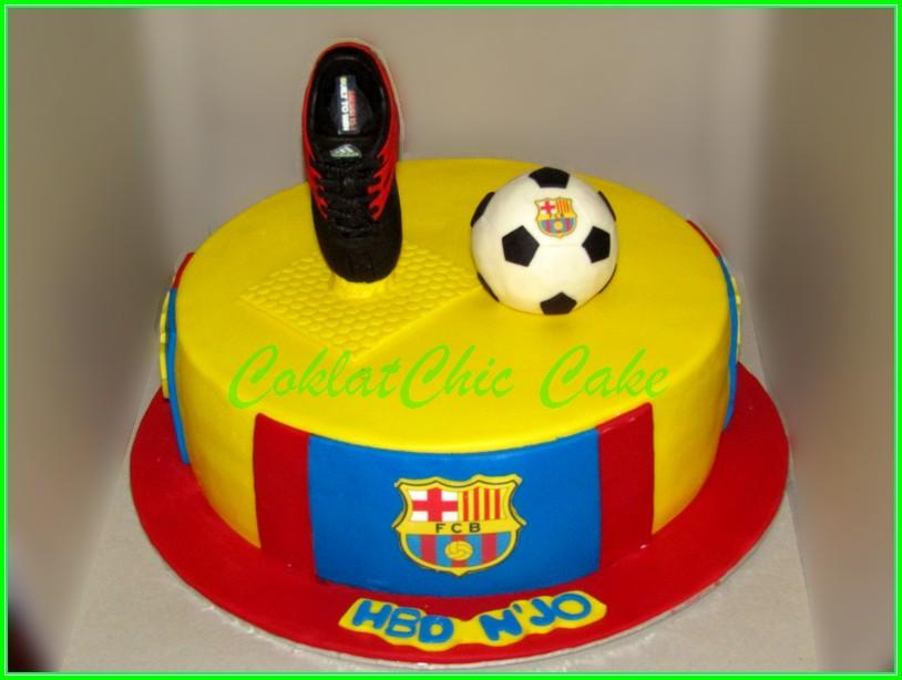 Cake Barcelona N'JO 30cm