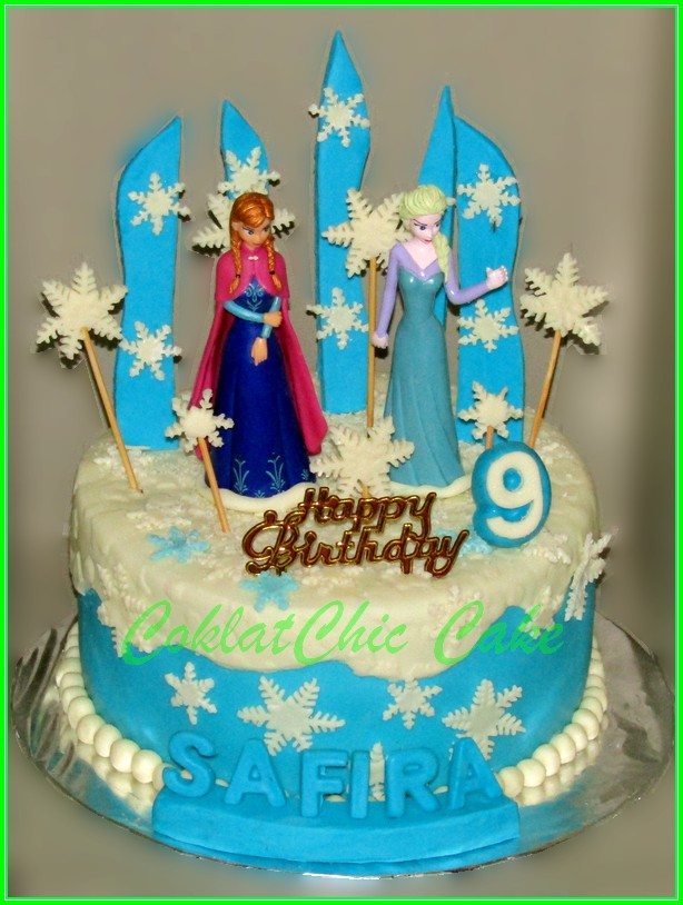 Cake Disney Frozen SAFIRA 18cm