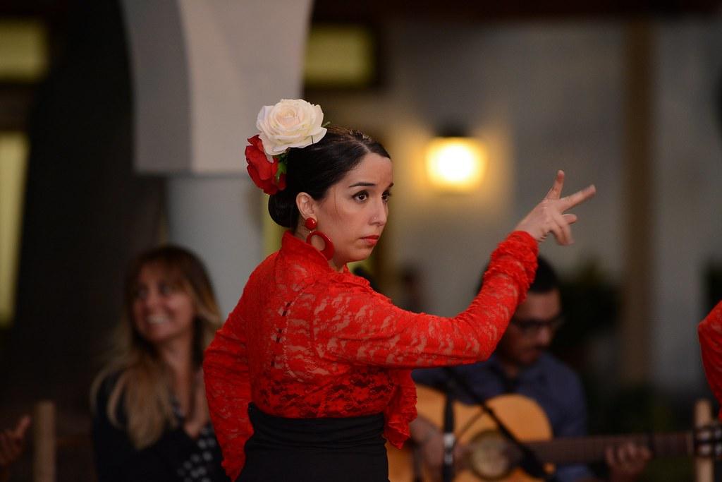 Presentación de fin de año del Taller de Flamenco (2017)