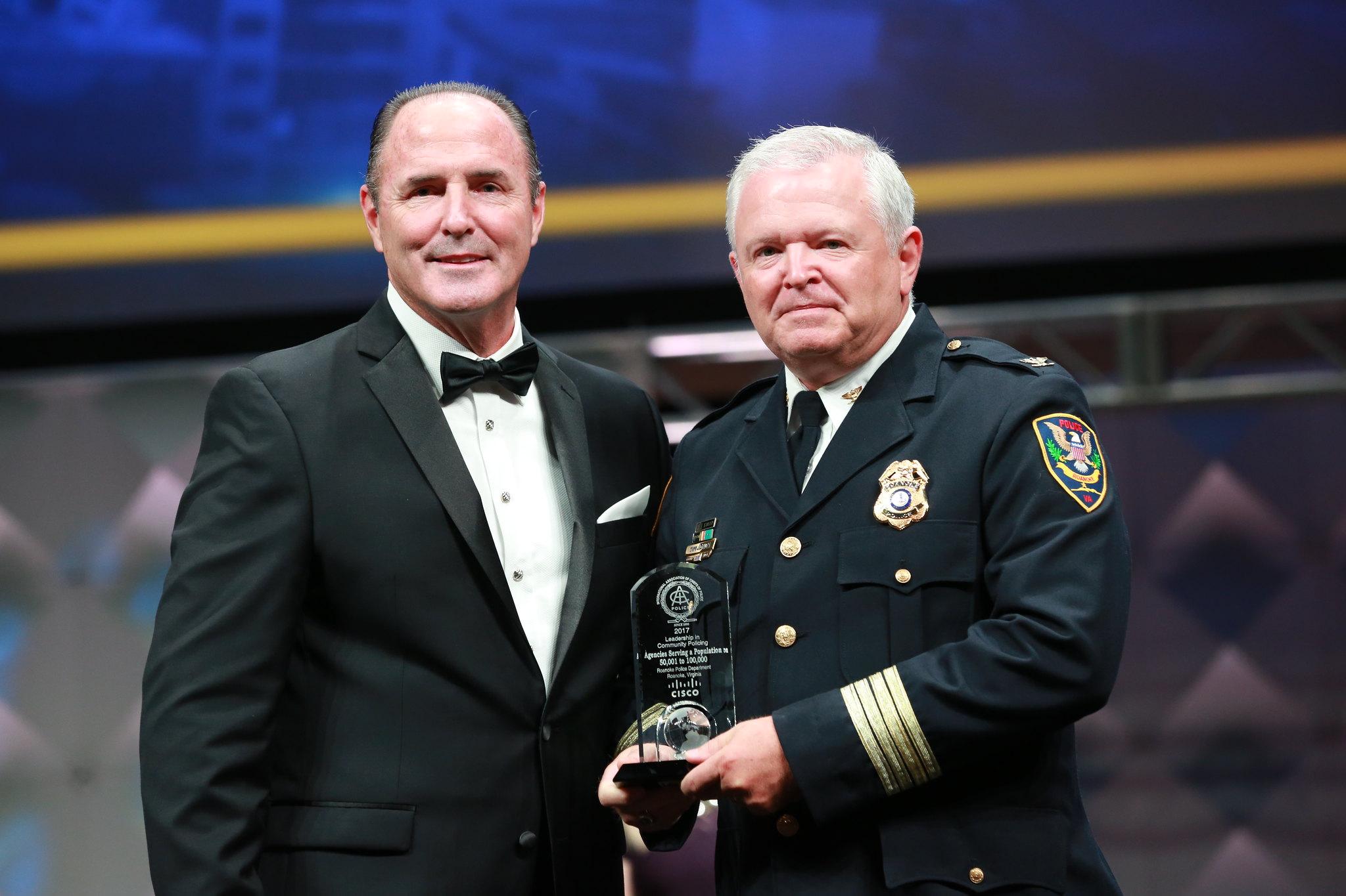 IACPCisco Leadership in Community Policing Award (50K-100K) - Roanoke