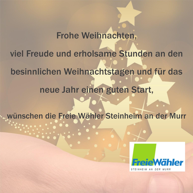 Weihnachtskarte2017FreieWählerSteinheimH