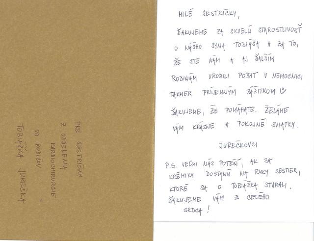 List sestrickam