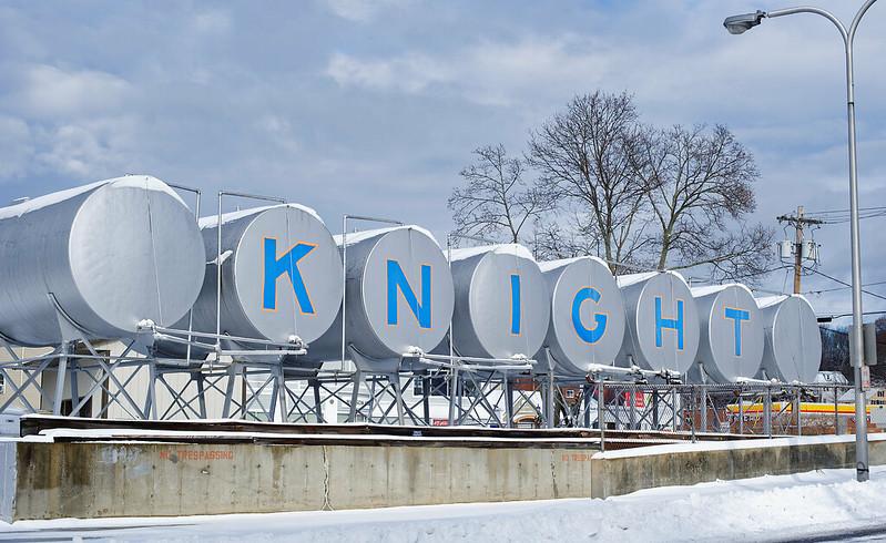 Knight Knight Fuel Co Tanks