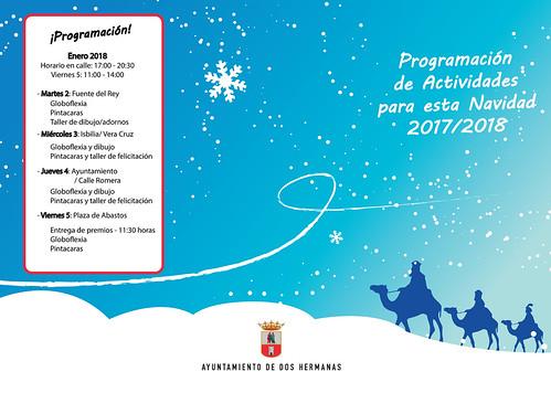 Eventos de Navidad Ayuntamiento y comerciantes de Dos Hermanas