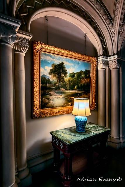 Vintage Hall Painting