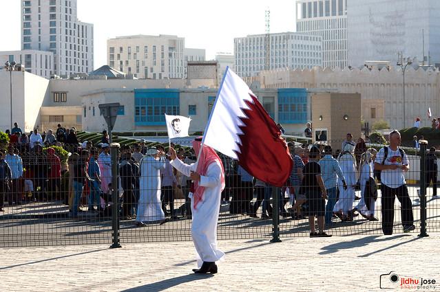 We support Qatar
