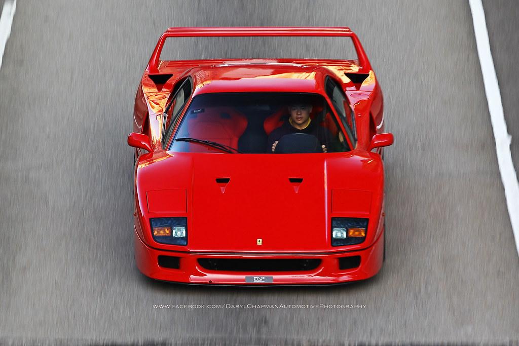 Ferrari, F40, Hong Kong
