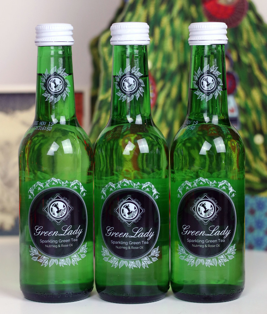 Green Lady Sparkling Tea Bottles